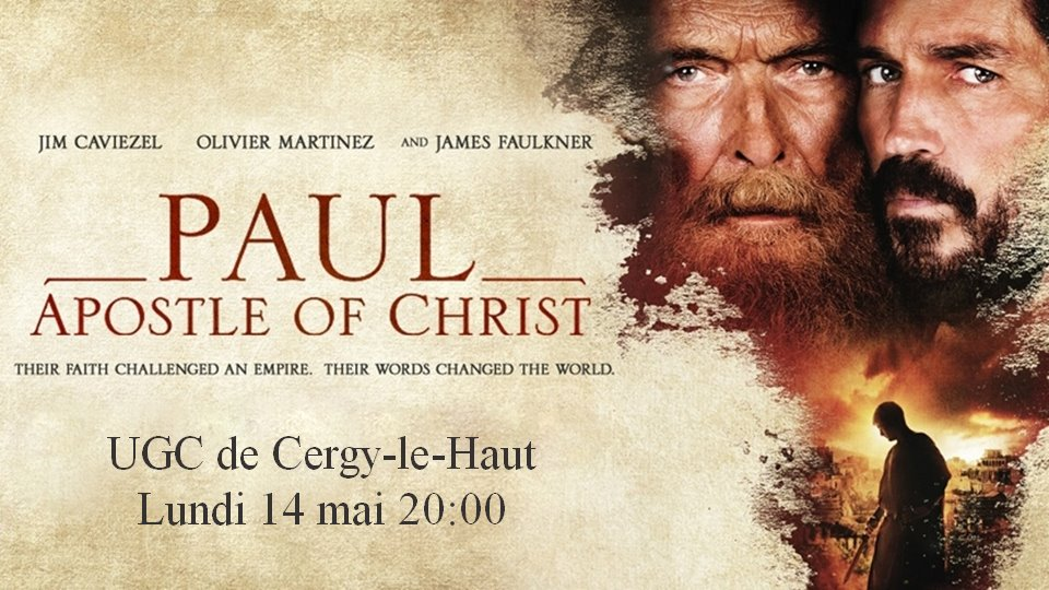180514 projection paul apotre de christ